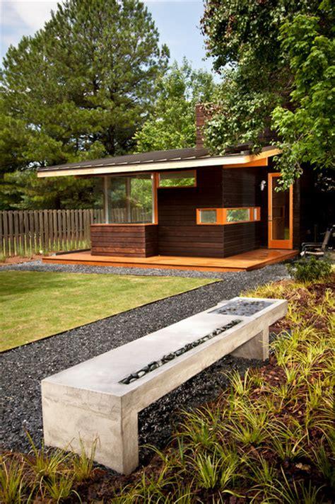 garden bench modern modern outdoor bench water feature modern garden