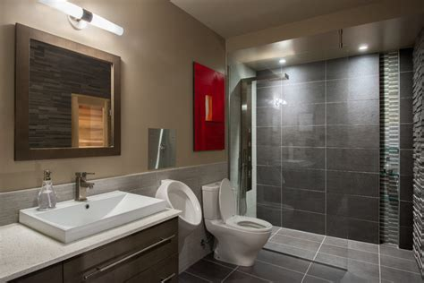 Basement spa bathroom
