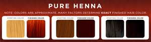 henna hair color chart henna hair dye henna color lab henna hair dye