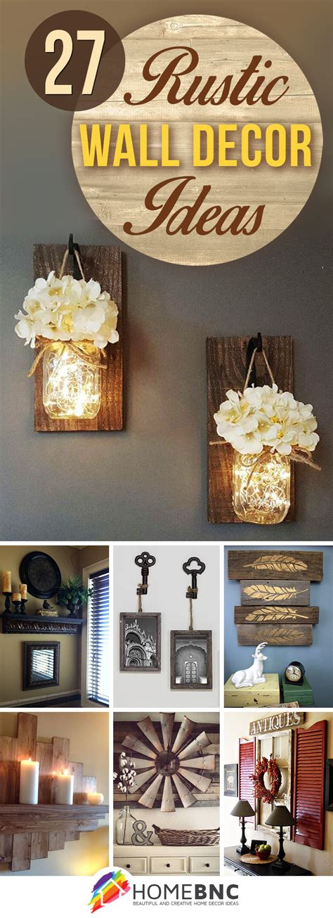 27 best rustic wall decor 27 best rustic wall decor ideas and designs for 2018