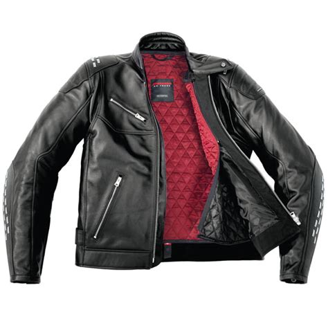 Handmade Leather Jackets - spidi custom leather jacket black free uk delivery