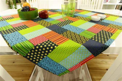 patchwork decke 200x200 tischdecke in patchwork design bunt ab 80x80 cm bis