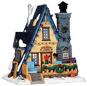 lemax christmas village edelweiss cabin amazon co uk