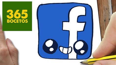 imagenes kawaii para facebook como dibujar logo facebook kawaii paso a paso dibujos