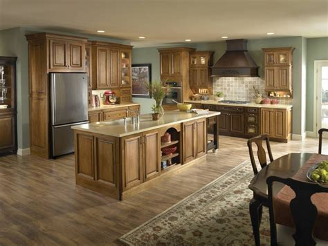 fresh best wall color for honey oak cabinets