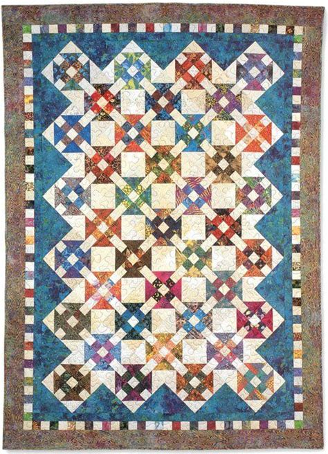 Mountain Quilt Guild by Churn Dash Quilt By Pat Speth For A Workshop At