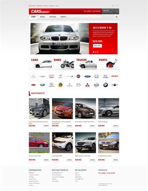 magenta template car dealer responsive magento theme 47402