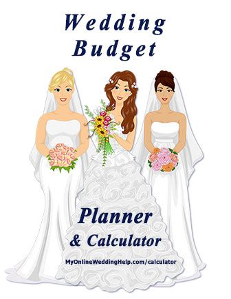 Wedding Budget Items by Create A Line Item Wedding Budget Calculator And Planner