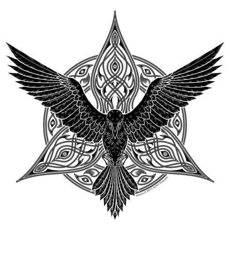 tribal raven tattoos tribal 検索 designs