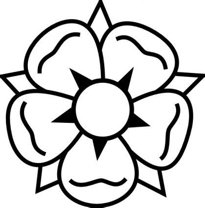 simple tattoo clip art simple flower clipart clipart best