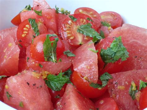 watermelon tomato salad watermelon thump what a fine way to start the summer