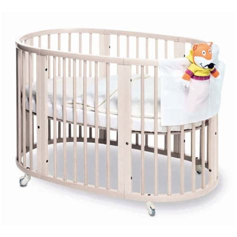 Oval Crib Mattress by 16 Beautiful Oval Baby Cribs For Unique Nursery