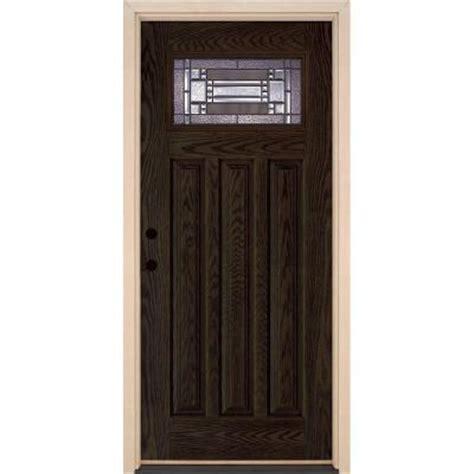 Home Depot Craftsman Door by Feather River Doors 37 5 In X 81 625 In Patina