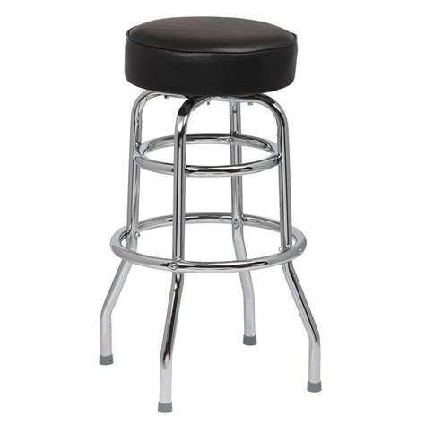 royal industries bar stools royal industries roy 7712 b double ring bar stool w