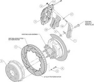 Check Brake System Silverado Wilwood High Performance Disc Brakes Rear Brake Kit