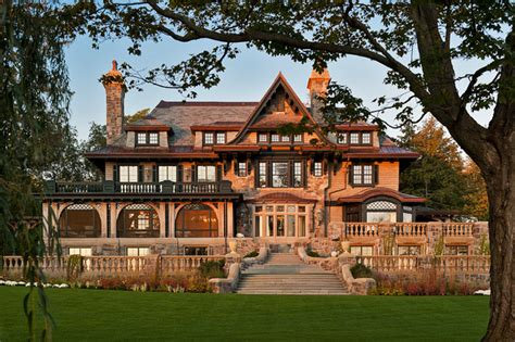 upstate manor victorian exterior boston by meyer