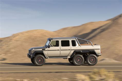 mercedes 6x6 military version of mercedes g63 amg 6x6 extravaganzi