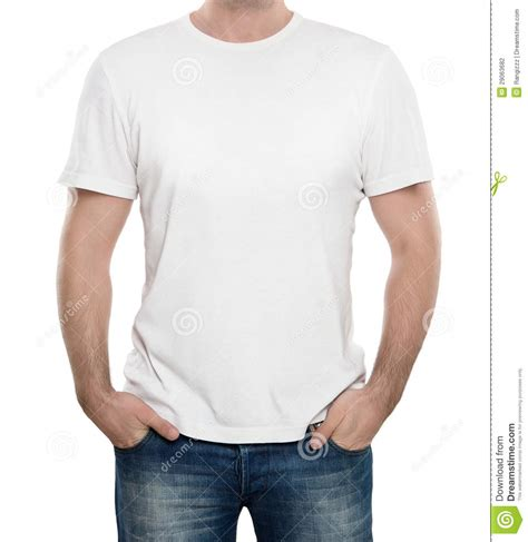 t shirt template with model blank t shirt isolated on white stock photography image