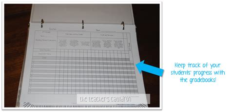 gradebook cover organize your common standards by the