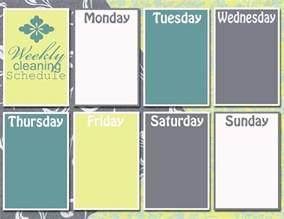 monday thru friday schedule template blank monday through friday calendar template 2016
