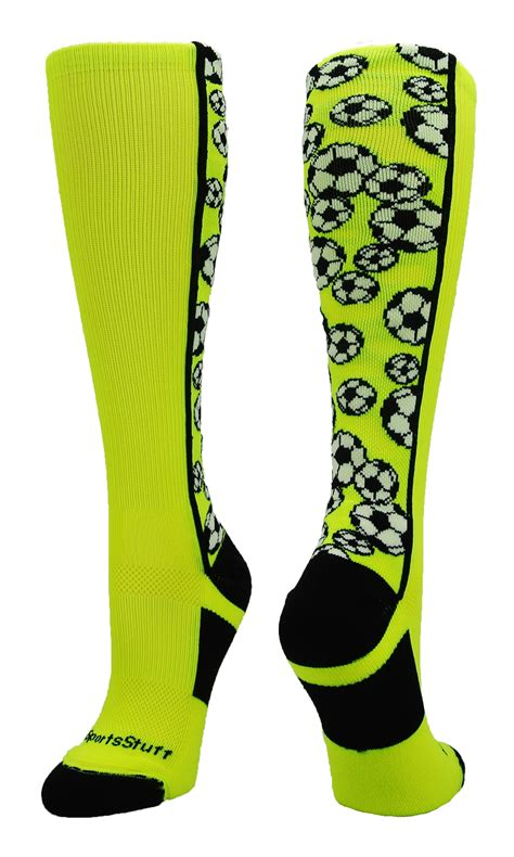 socks youth soccer socks boys youth neon the calf otc funky ebay
