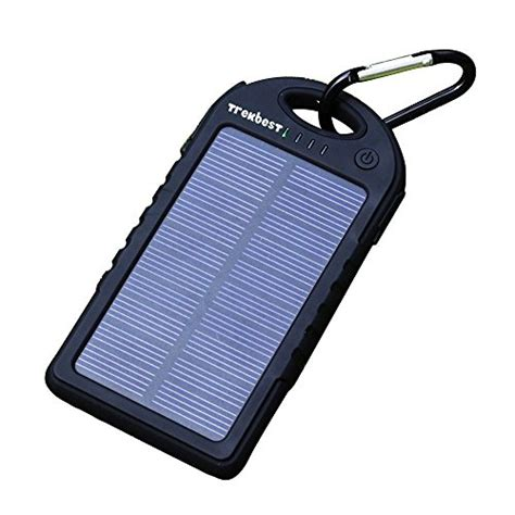 solar charger for android trekbest solar charger 12 000mah solar external battery pack dual usb port portable solar