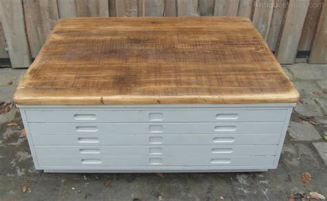 Antiques Atlas Vintage Plan Chest Coffee Table Antique Chest Coffee Table