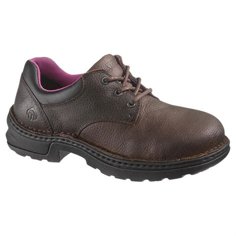 work shoes s wolverine 174 betty steel toe lace up work shoes