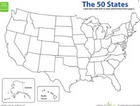 map the states state abbreviations worksheets 50