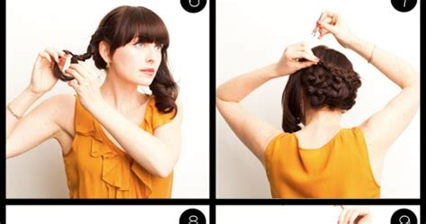 tutorial kepang rambut bagus kanubeea hair clip cara membuat sanggul kepang