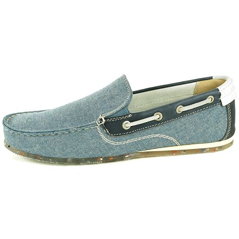 boat slip que es gbx mens boat shoes slip on loafers double gore moc toe