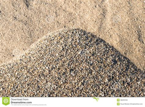 Idaho Sand And Gravel Closeup Of A Pile Of Sand And Gravel In Varied Colors And