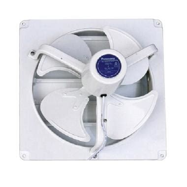 Exhaust Ventilating Fan Panasonic Dinding Tembok Fv 25run5 jual panasonic fv 40afu exhaust fan ventilasi dinding putih 16 inch harga