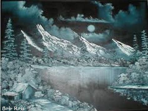 bob ross painting canvas 17 best images about bob ross on bobs bob