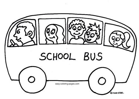 coloring pages of school busses school bus coloring pages to download and print for free