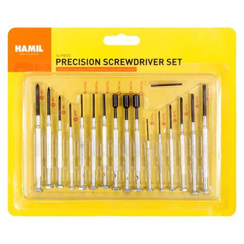 Obeng Set 16pcs Promo wholesale precision screwdriver sets discount wholesale