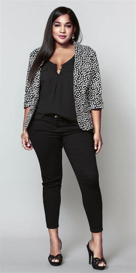 style tips for women slightly overweight fashion for chubby young ladies of black pants great