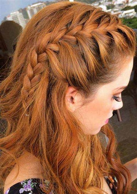 one side braid hairstyles 5 different french braids hairstyles with images 2018