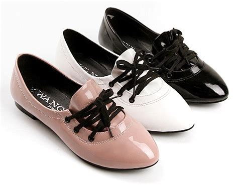Flatshoes Pnc 3 aliexpress buy 2015 lace up s shoes for flat shoes pink black white