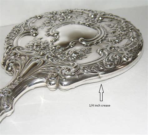 gorham sterling silver dresser set gorham sterling silver vanity dresser set mirror brush