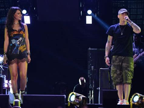 eminem movie last rap eminem rihanna kick off monster tour in los angeles