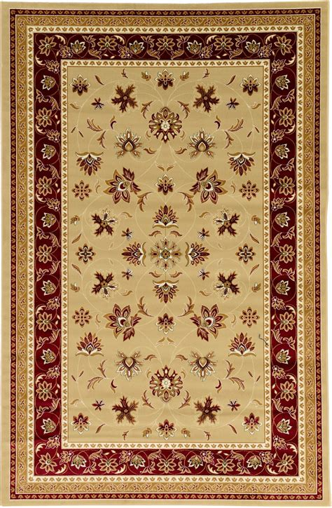 area rugs traditional traditional rugs area rug 6 5 x 9 new classic rug soft carpet ebay