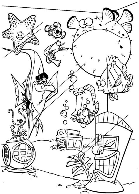 finding nemo coloring pages darla 25 best ideas about finding nemo coloring pages on