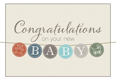 congratulations baby shower card template 30 new baby born quotes congratulate