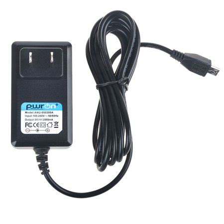 Charger Adapter Asus 2a pwron 6 6 ft 5v 2a micro usb ac to dc power adapter