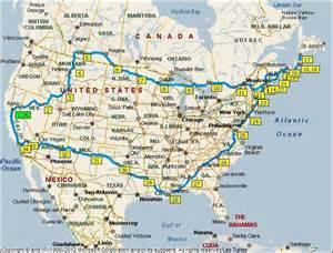 Map Of East Coast Usa by East Coast Usa Road Map Bing Images