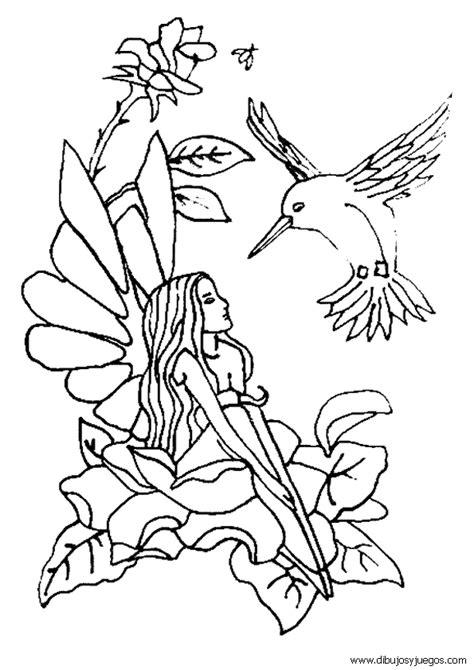 imagenes de hadas bonitas para dibujar dibujos de hadas 084 dibujos y juegos para pintar y