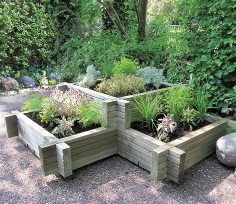 Planters Uk by Grange Corner Planter Gardensite Co Uk