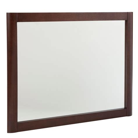 home decorators collection mirrors home decorators collection madeline 26 in wall mirror in chestnut mdwm26com cn the home depot