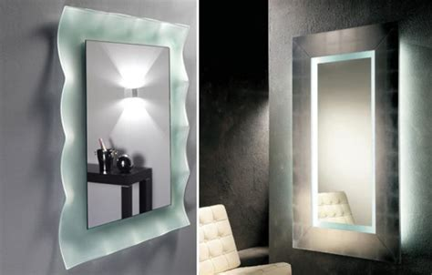 bathroom mirrors that light up wall lights design wonderful ideas lighted wall mirrors